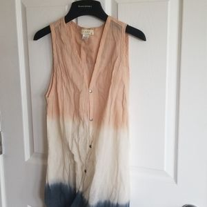 Anthropologie ombre tunic